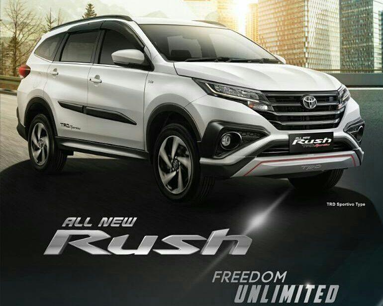 All New Toyota Rush Meluncur Harga Diumumkan Januari 2018