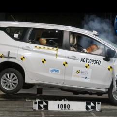 Uji Tabrak Grand New Avanza Gambar Toyota Veloz Mitsubishi Xpander Raih 4 Bintang Di Asean Ncap