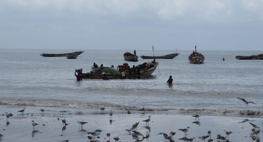vissersboot Gambia