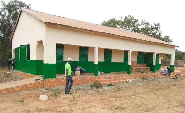 Sittanunku renovatie kliniek