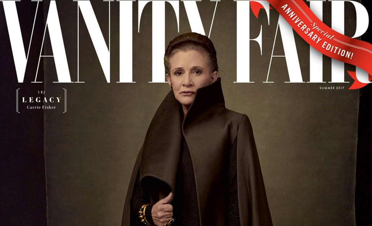 Vanity Fair Reveals New Covers For Star Wars: The Last Jedi