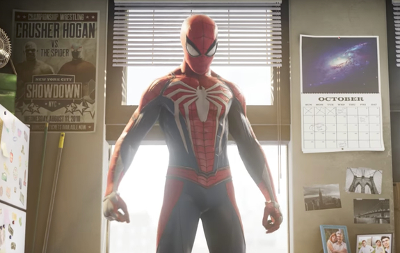 PlayStation 4's Spider-Man Game Reveals Story Trailer
