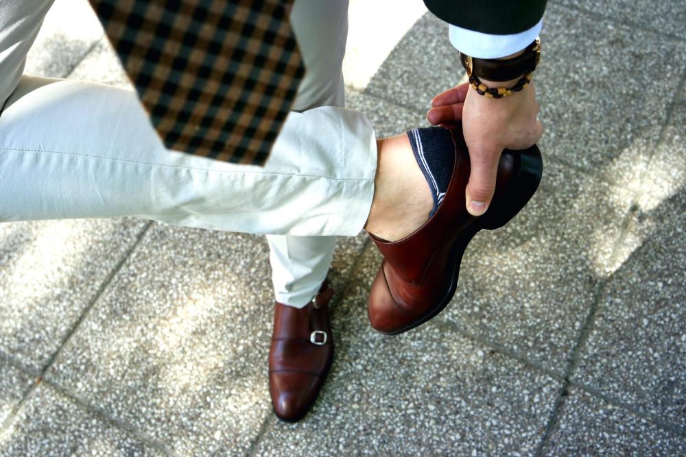 buty bez skarpet