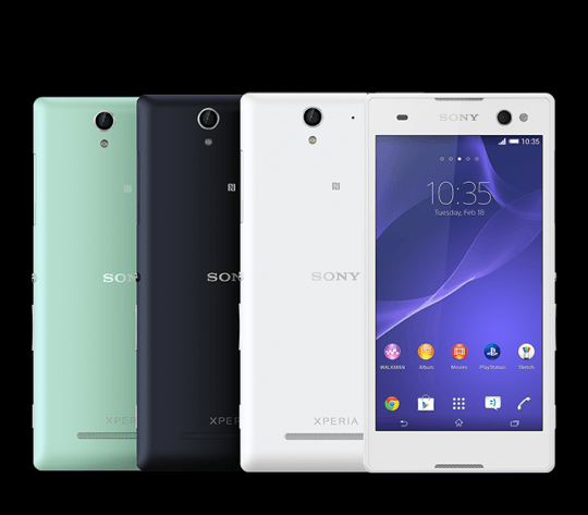 Sony xperia c3 j oficial 4gnews sony xperia c3 goes official reheart Images
