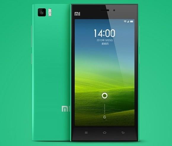 Xaomi Mi3 verde