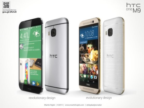 Martin-Hajek-compares-leaked-HTC-One-M9-designs