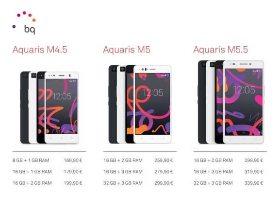 Preços-BQ-Aquaris-M
