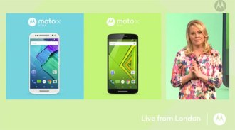 Moto X e Moto x play