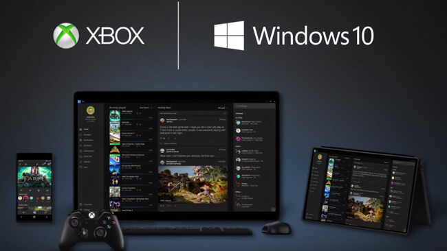 Microsoft revela funções da Xbox presentes no Windows 10