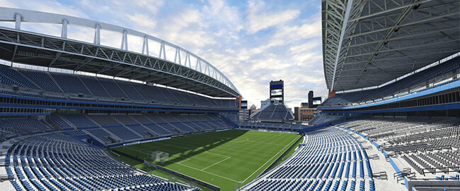 CenturyLink Field (Seattle Sounders FC, Major League Soccer) (1)