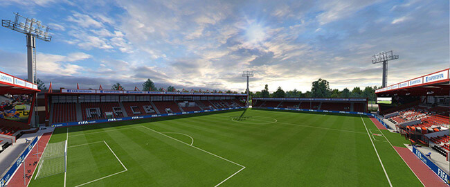 Vitality Stadium (Bournemouth, Barclays Premier League) (2)