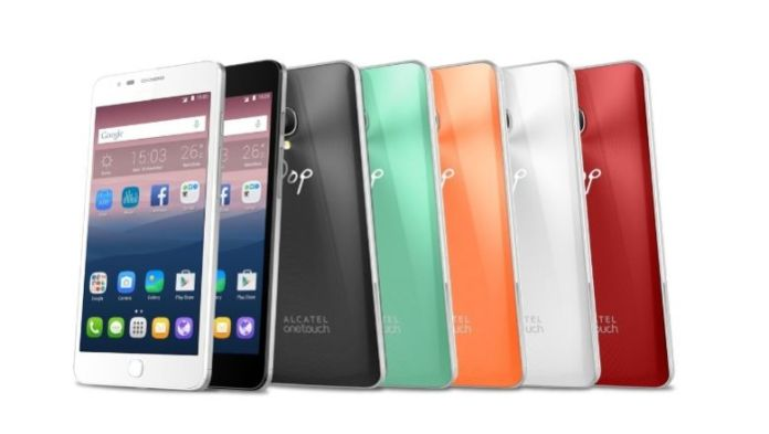 Alcatel OneTouch Pop Up (as cores)