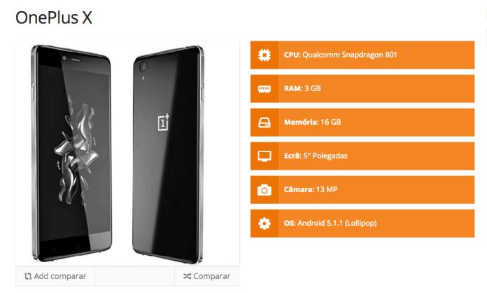 OnePlus X specs2