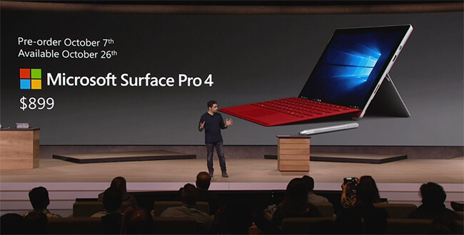 surface pro preço