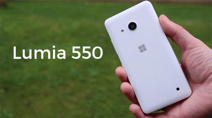 Lumia 550 review