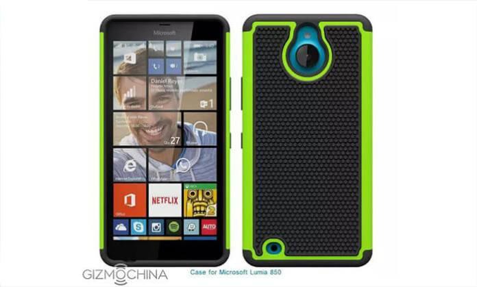 Lumia 850 leak