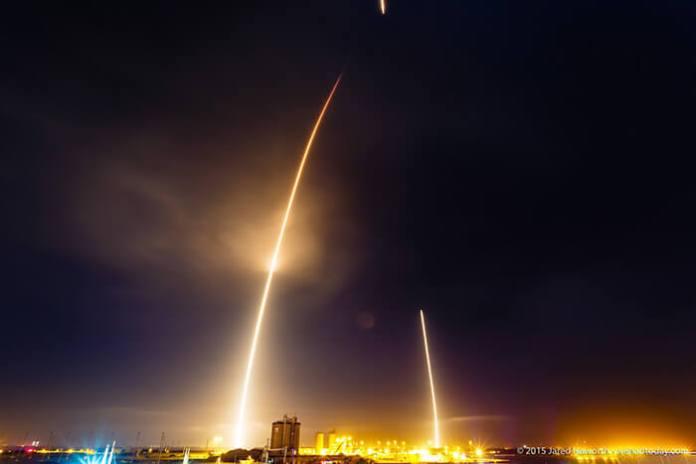 viagem do Falcon 9