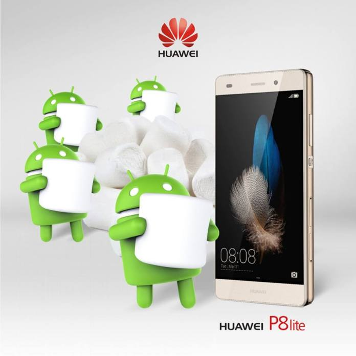 Huawei P8 Lite Android 6.0 Marshmallow 4gnews