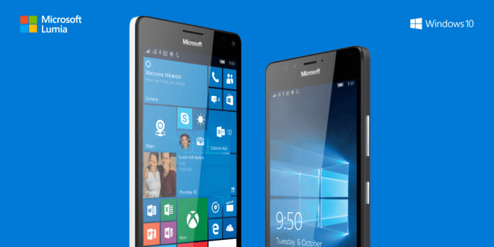 Lumia 950 e 950XL com Windows 10 Mobile da Microsoft Smartphones