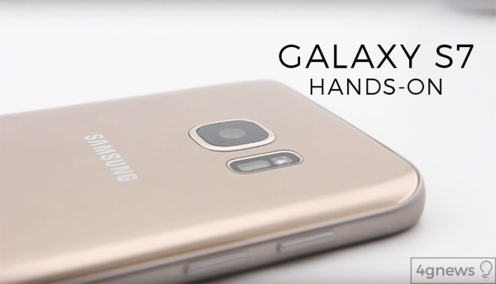 Galaxy S7 hands-on