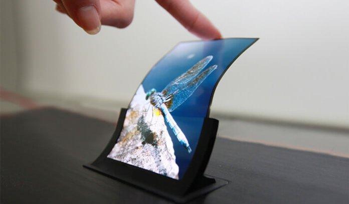 ecrã flexivel