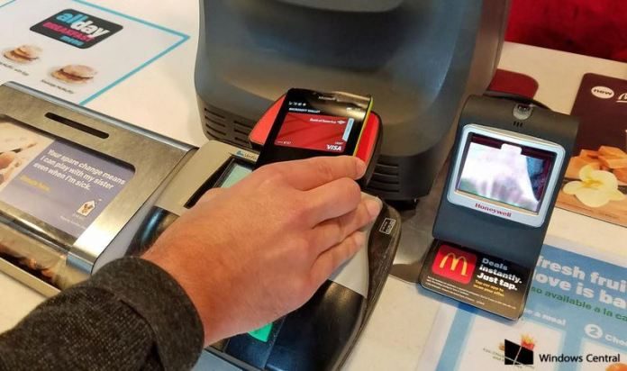 nfc tap to pay windows mobile