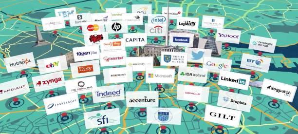 Empresas sediadas em Dublin