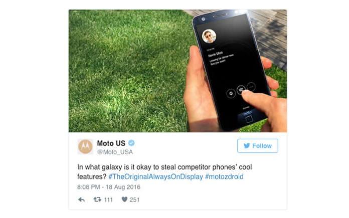 Motorola tweet (1)
