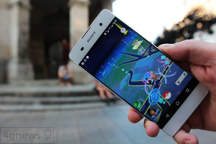 Sony Xperia XA 4gnews Pokemon GO