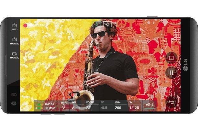 LG V30 Smartphone Qualidade de Som