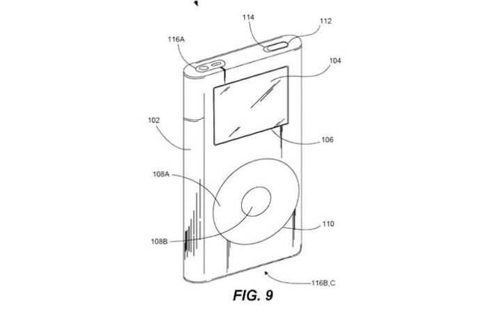 iPod classic patente