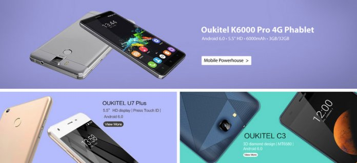 OUKITEL Deal 4gnews