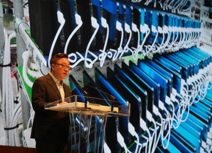 Conferência de imprensa sobre o Samsung Galaxy Note 7