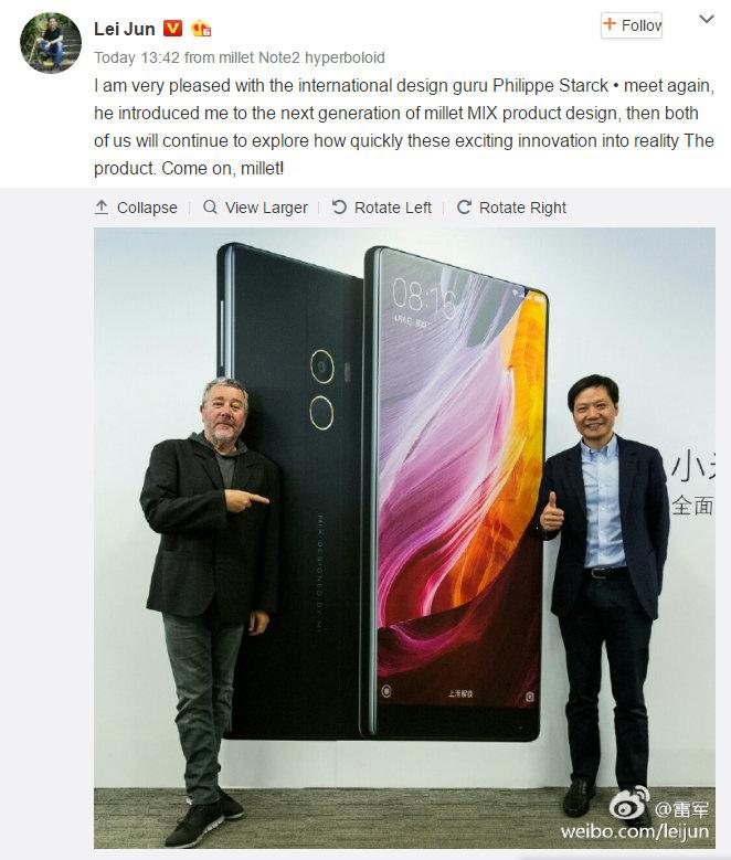 Xiaomi Mi MIX II