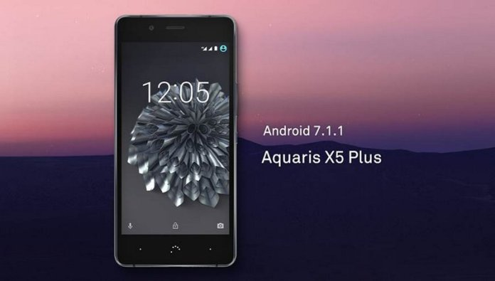 Aquaris X5 Plus