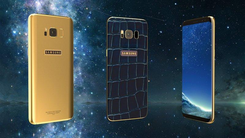 Samsung lança atualização após problemas na tela do Galaxy S8