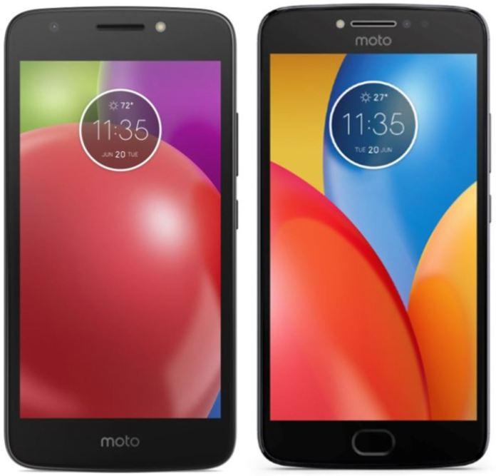 Motorola Moto E4 e E4 Plus