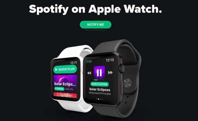 Snowy Spotify Apple Watch 1