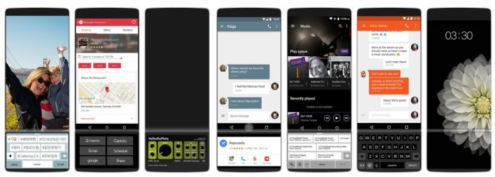 Funções slide no LG V30