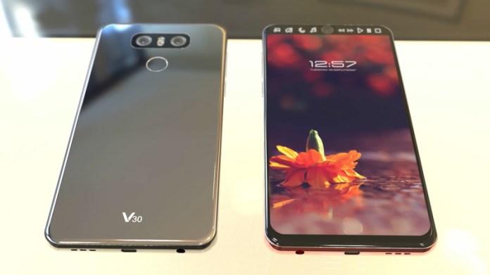 Conceito do LG V30 | Crédito: Concept Creator
