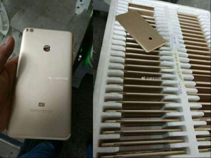 Alegado Xiaomi Mi Max 2