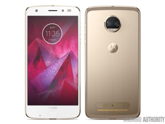 Alegado Moto Z2 Force; Imagem: Android Authority