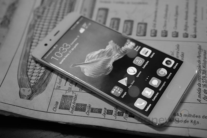 Huawei P10 Plus smartphone obsolescência programada