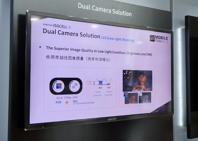 nova câmara ISOCELL