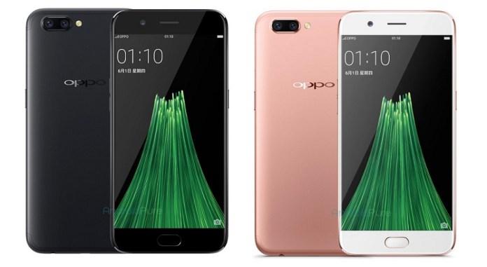 O alegado novo Oppo R11; Imagem: Android Pure