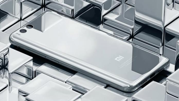 Xiaomi Mi 6 prateado