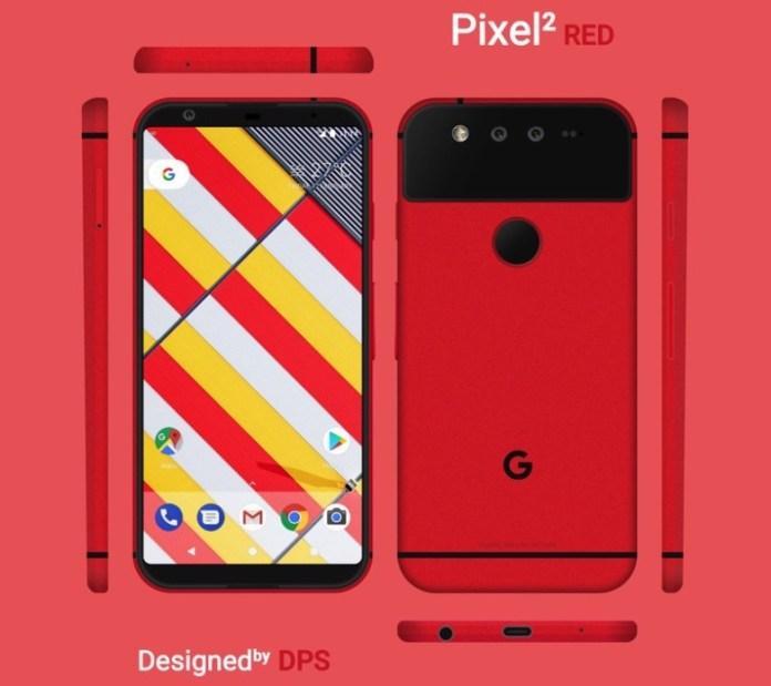 Conceito do Google Pixel 2; Imagem: Deepal Pallav Suthar