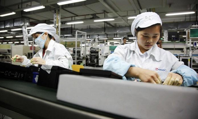Foxconn é uma das maiores fabricantes de smartphone do mundo