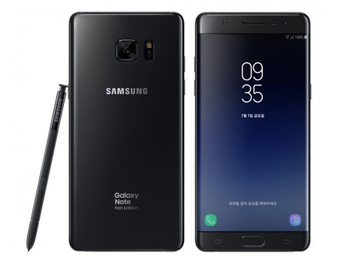 Samsung Galaxy Note FE Fan Edition