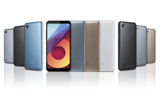 LG Q6 LG Q6+ LG Q6α LG G6